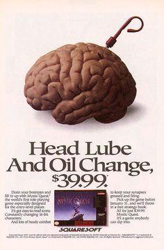 Video Game Ads, 1980s / 1990s - Retronaut. Circa 1992.