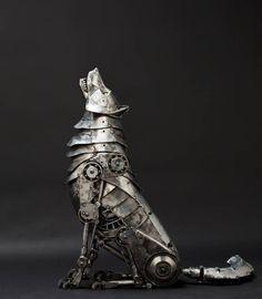 Mechanical Wolf - steampunktendencies