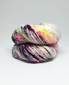 Dyed to order Hand Dyed Yarn  Watch Me by StitchTogetherStudio