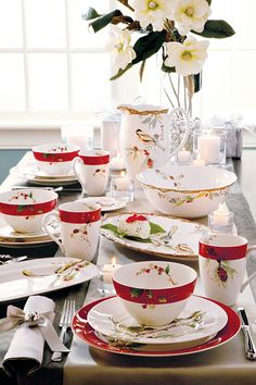 "Lenox ""Winter Song"" Dinnerware @ belk.com #belk"