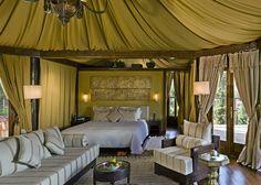 Luxury Berber Tents at Kasbah Tamadot