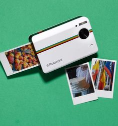 "Pocket Polaroid: 2 x 3"" prints for instant gratification!"