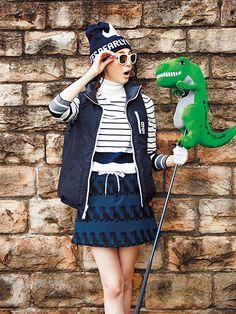 恐竜とゴルフ!