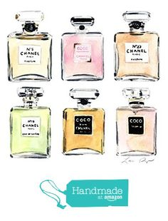 Chanel Perfumes No 5 Coco Mademoiselle Giclee Print of Original Watercolor 8 x 10, 11 x 14 inches Fine Art Poster Blush Pink Chartreuse Coco Chanel Quilted Bag Double C Fashion House Illustration Paris Parfum French Marilyn Monroe from Laura Row Studio http://smile.amazon.com/dp/B01A9NF6B0/ref=hnd_sw_r_pi_dp_gfNKwb1QAN5FT #handmadeatamazon
