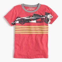 An awesome T-shirt that's worth a victory lap around the playground at recess. <ul><li>Cotton.</li><li>Machine wash.</li><li>Import.</li></ul>