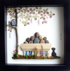 Family Pebble Art | DIY Christmas Gifts for Family Inexpensive | Handmade Christmas Gifts for Friends