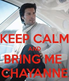 Chayanne. ever since childhood i've loved his music <3