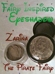 """Think outside the box like Tinks friend Zarina, who dared and transformed pixie dust (before becoming a pirate). """"Alchemy"""" is a difficult to describe dirty, sexy and glowing color that looks taupe-gray-and-pink....wow!"""