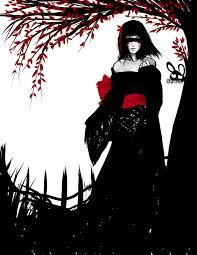 black and white with red - Google Search