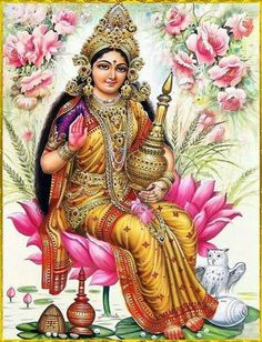 Lakshmi is the Hindu Goddess of wealth, prosperity (both material and…