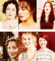 yay jane austin! hey there is Laura Spencer.. how random and wonderful all at the same time!