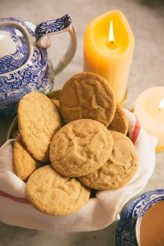 Ginger Pillow Cookies -21