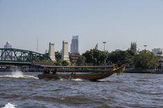 River at Bangkok, Thailand.