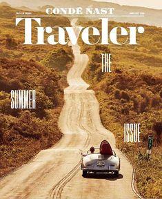 Conde Nast Traveller (US) - Cover - Design Magazine Design, Cool Magazine, Magazine Covers, Magazine Layouts, Print Magazine, Vintage Magazine, Design Poster, Poster S, Travel Magazines