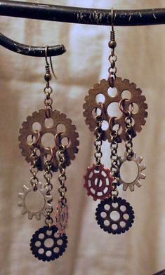 Steampunk Gearings TM Gears and Chains by AdroitMinds on Etsy, $12.00