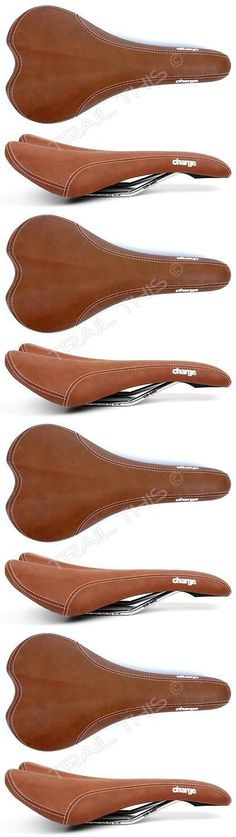 Saddles Seats 177822: Charge Bikes Spoon Bicycle Saddle Crmo Rails Road Enduro Mtb Fixie Light Brown -> BUY IT NOW ONLY: $31.95 on eBay!