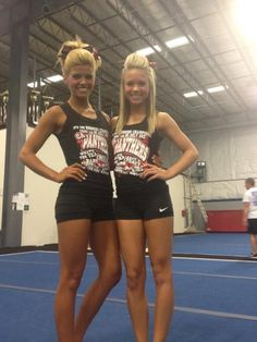 Carly Manning with Cheer Athletics Panthers. You can't fake great fitness. it just shines through... :)