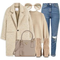 Designer Clothes, Shoes & Bags for Women Winter Fashion Outfits, Winter Outfits, Autumn Fashion, Cute Casual Outfits, Stylish Outfits, Winter Mode, Mode Hijab, Mode Inspiration, Mode Outfits