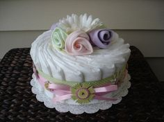 Recent Designs - SimplyShontay LLC--Diaper & Towel Cakes