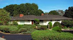 California Ranch Style Homes | California Ranch Style Homes 1950's – 1960's