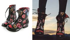NEW - Bite Me Combat Boot by Iron Fist
