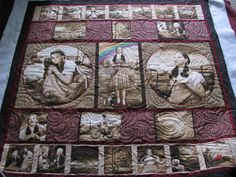 Quilted by Harriet Carpanini.