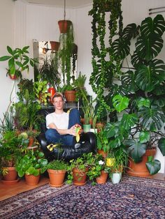Who better to provide plant care tips than beautiful men with particularly seasoned green thumbs? House Plants Decor, Plant Decor, Indoor Garden, Indoor Plants, Indoor Trees, Diy Bedroom Decor, Diy Home Decor, Pothos Plant, Pot Plante