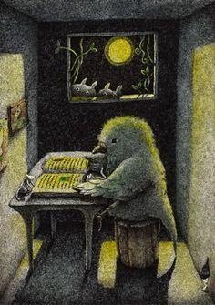 Even the birds read! / Hasta los pájaros leen! (ilustración de Hiromi Nishizaka)