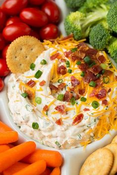 Bacon Cheddar Ranch Dip - Cooking Classy Bacon Cheddar Ranch Dip - Cooking Classy Looking for that snack to bring to a holiday party t. Dip Recipes, Appetizer Recipes, Great Recipes, Cooking Recipes, Favorite Recipes, Lunch Recipes, Cooking Tips, Fast Recipes, Chicken Recipes