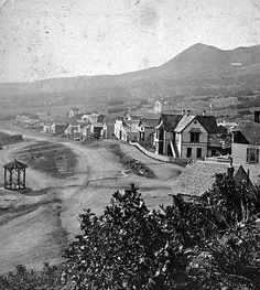 Looking southeast on Manitou Avenue 1865