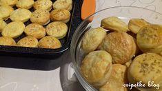 csipetke: Tejfölös pogácsa