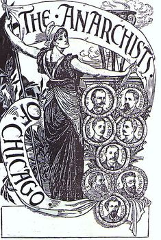 Labour movement martyrs of the Haymarket Riot, 1886, Chicago