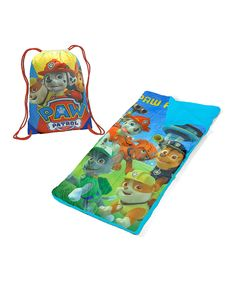 Look at this #zulilyfind! PAW Patrol Sleeping Bag & Sling Bag by Idea Nuova #zulilyfinds