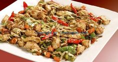 Chicken and Vegetable Stir-Fry By Zubaida Tariq