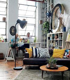 Wohnzimmer Leben Auf Kleinem Raum Inneneinrichtung Villa Erbunt Modernes Wohnen Und