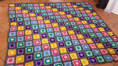 Granny squares pattern