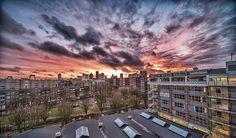 Beautiful Rotterdam, The Netherlands