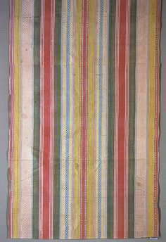 I am always suprised by the timeles style of design from early times! Spanish stripe, 17th-18th century