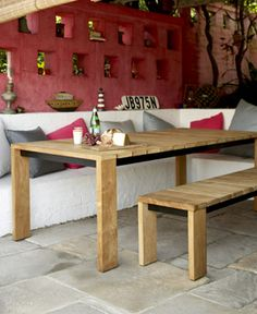 Eco Outdoor - Furniture - Dining + Bar Tables - Bronte