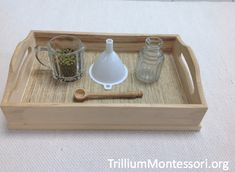 On the Fine Motor Shelf in May - Trillium Montessori Montessori Trays, Montessori Preschool, Montessori Education, Montessori Materials, Preschool Activities, Literacy Activities, Montessori Bedroom, Baby Education, Special Education