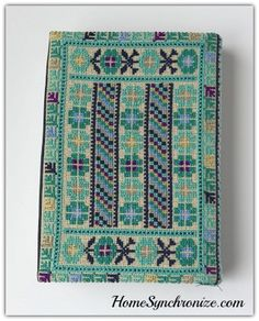 The Holy Quran w/Palestinian Embroidery Fabric Cover [color options av – Home Synchronize