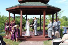 Beautiful July 3rd wedding at The Silo in Allegan, MI