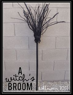 Witches Broom--Direct link--http://kikicreates.blogspot.com/2011/09/witchs-broom-tutorial.html