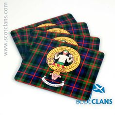 Murray Clan Crest PlaceMats