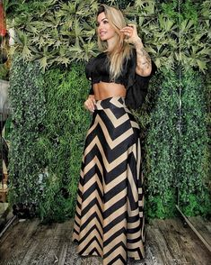 Love Fashion, Girl Fashion, Fashion Outfits, Jumpsuit Outfit, Dress Outfits, Long Skirt Fashion, Cute Pants, Classy Outfits, Sexy Dresses
