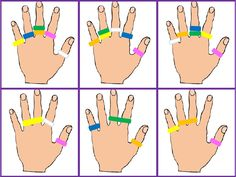 The site is not in English but you can easily find these great printable cards for working on fine motor skills with use of terry hair ties.Afbeeldingsresultaat voor Ring L DingScribd is the world's largest social reading and publishing site. Montessori Activities, Motor Activities, Indoor Activities, Toddler Activities, Preschool Education, Preschool Activities, Finger Gym, Busy Boxes, Fine Motor Skills
