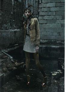 Molly Bair by Fabien Baron (Intermission Magazine)