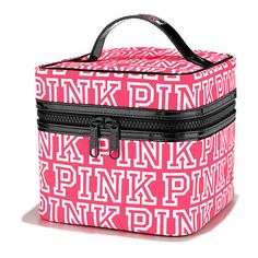 From backpacks to slides and more, shop all of our Accessories. Only at PINK. Cute Makeup Bags, Pink Makeup Bag, Backpack Outfit, Backpack Bags, Travel Backpack, Baby Shower Gift Bags, Pink Nation, Pink Accessories, Pink Brand