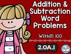 Addition and subtraction word problems:This math set is tied directly to the second grade common core OA.1:This set is the perfect tool to teach your students the first Operations and Algebraic Thinking standard in the common core. By completing the activities in this set, your students will understand how to add and subtract within 100 to solve one- and two-step word problems.Included in this download are:-5 Math Tasks for cooperative learning-5 Exit Tickets for individual assessment-I can…