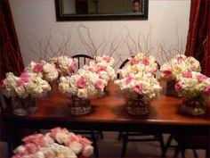 Wedding Centerpieces Flowers Submerged In Water | Mia Bella Bridal ...